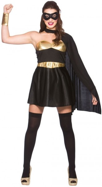 Dark Super Hero Damenkostüm