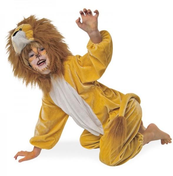 Löwen Plüsch Kinderkostüm