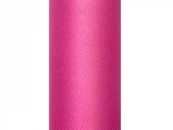 Pinker Tüll Tischläufer 30 x 900cm 1