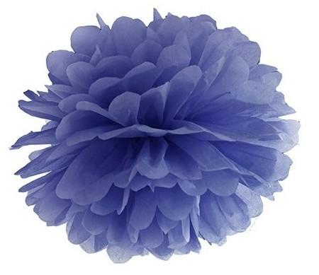 Pompon Romy dark blue 25cm