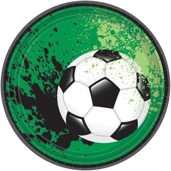 8 Fußball Game Time Teller 18cm