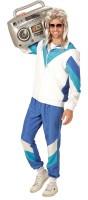 Prolliger Trainingsanzug 80er Jahre Kostüm