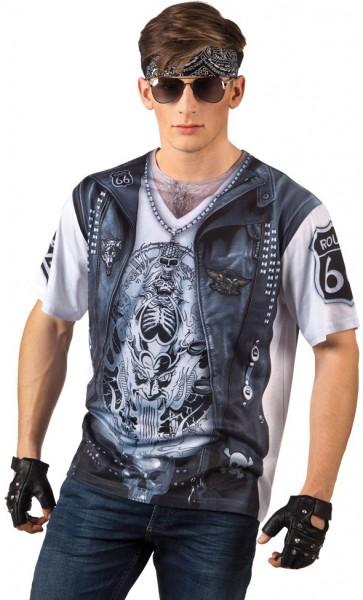 3D biker shirt for men