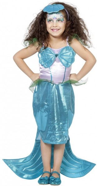Kleine Meerjungfrau Elena Kinderkostüm