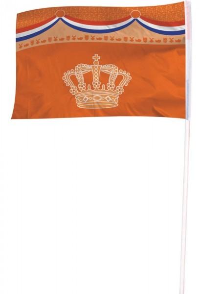 Holland Kronen Flagge 100 x 150cm