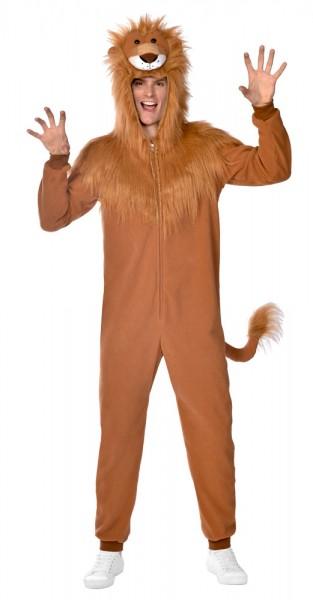 Deluxe Lion Onesie Costume