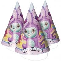 8 Hatchimals Partyhüte