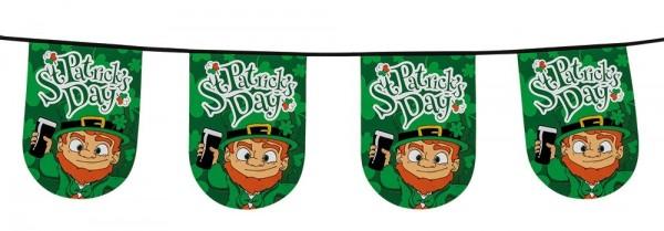 Happy St. Patricks Day Wimpelkette 6m