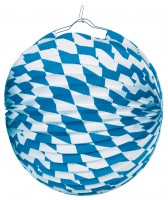 Münchener Oktoberfest Lampion 25cm