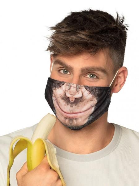 Mund Nasen Maske Affe
