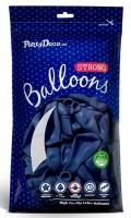 50 Partystar Luftballons königsblau 27cm