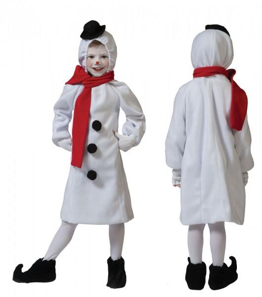 Snowman costume for kids Christmas