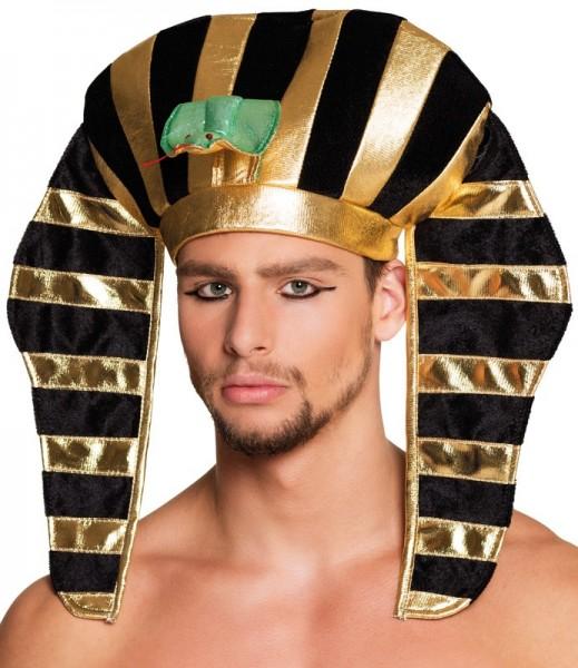 Goldene Pharao Haube