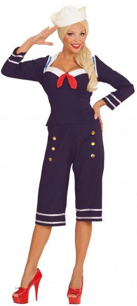 50er Jahre Segelmädchen Kostüm
