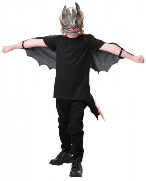 Déguisement enfant sans dents Dragons 3