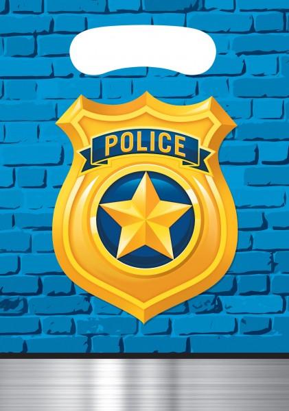 8 Polizei Revier Geschenktüten