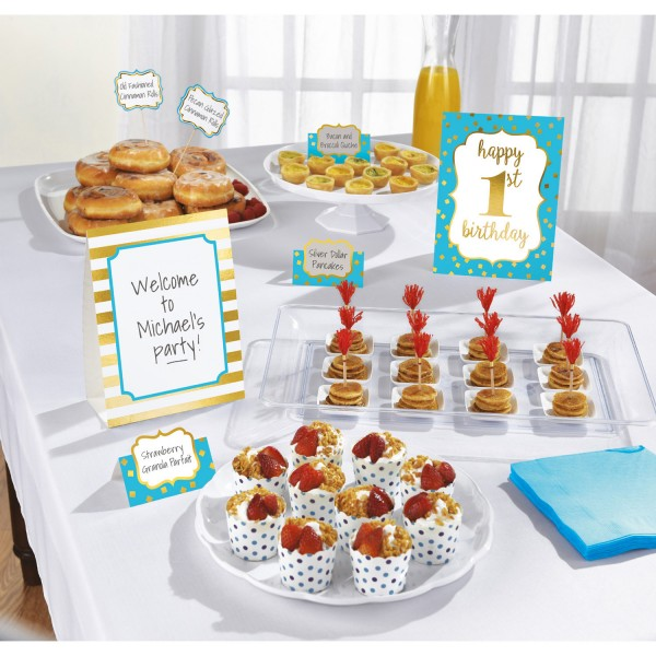 Bluestar 1st Birthday Buffet Set