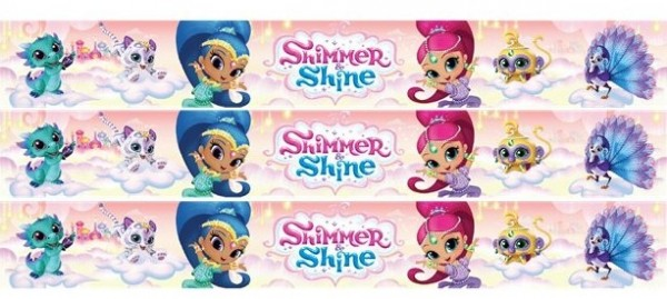 Shimmer & Shine Wishes Banner 1m
