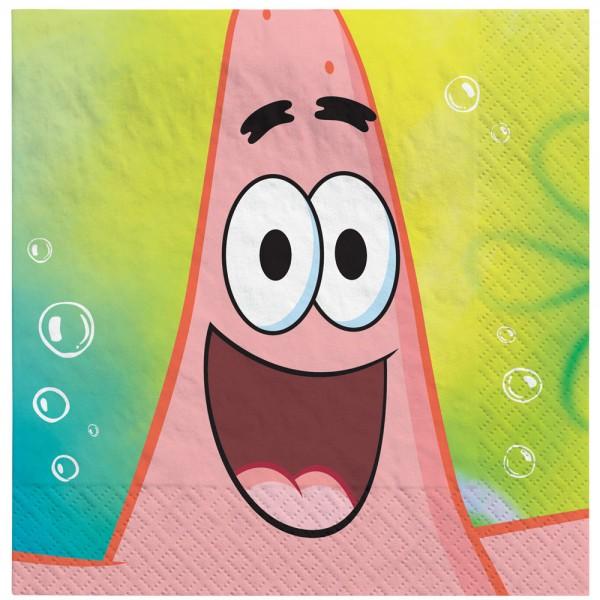 16 Spongebob Servietten 33cm