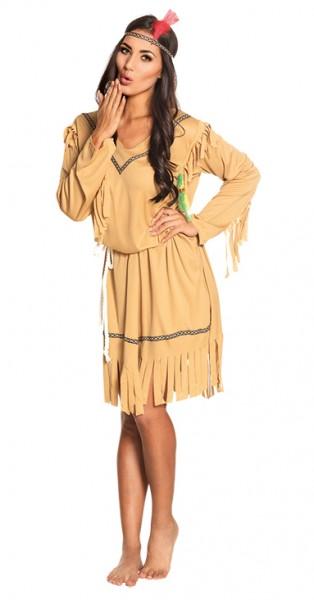 Indianerin Sinah Damenkostüm