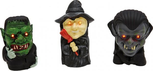 3 Halloween Leuchtfiguren 1