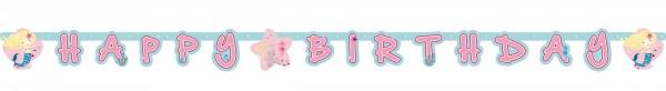 Guirlande joyeux anniversaire sirène