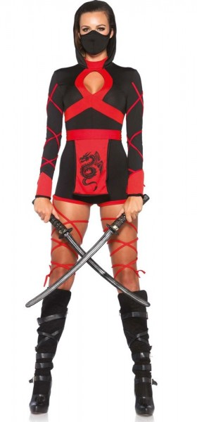 Sexy ninjalady ladies costume
