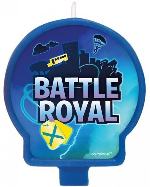 Battle Royal Birthday Tortenkerze 7cm