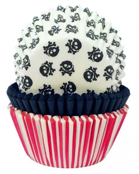 75 moules à muffins pirate crew