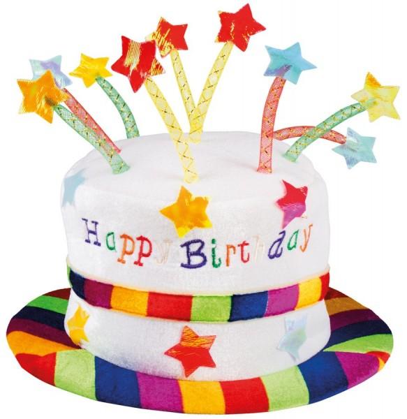 Geburtstagskuchen Hut Happy Birthday