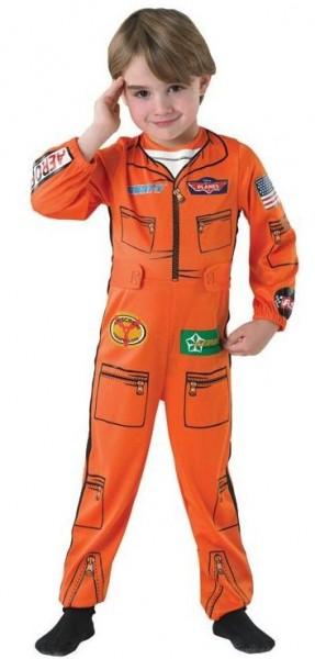 Dusty Pilot Fliegeranzug Kostüm 1
