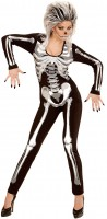 Skelett Ida Overall Kostüm