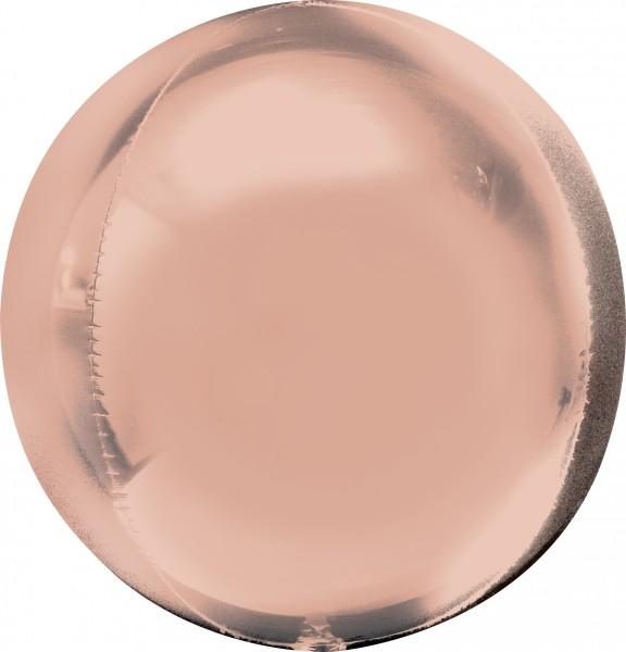 Ball balloon rose gold 38 x 40cm