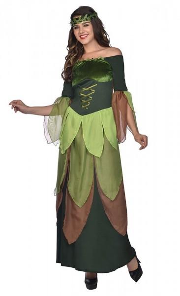 Disfraz de hada del bosque Luana para mujer