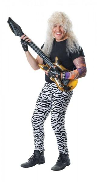 Pantaloni da uomo a righe con zebra