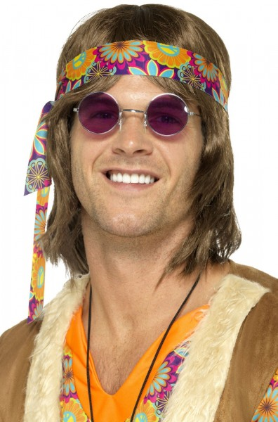 671d5d5aad25 Lila Runde Hippie Brille 1