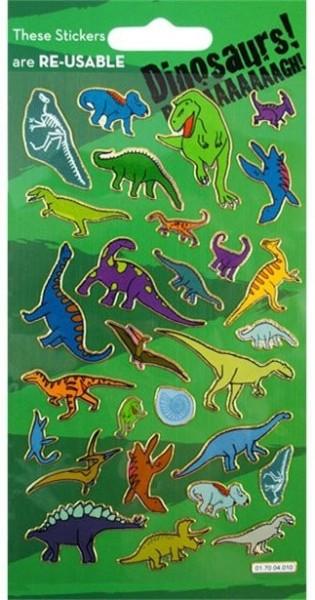 Holografischer Dino Stickerbogen
