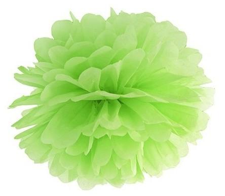 Pompon Romy apple green 25cm