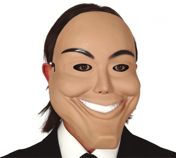 Horror masker met een grote glimlach