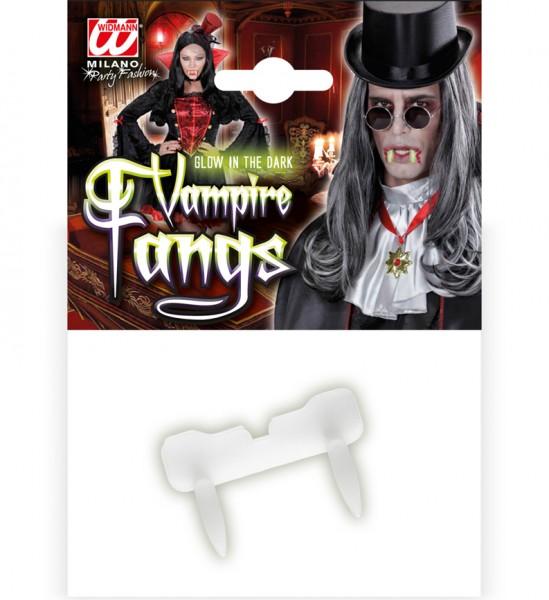 Glow Vampir Zähne Leuchtend