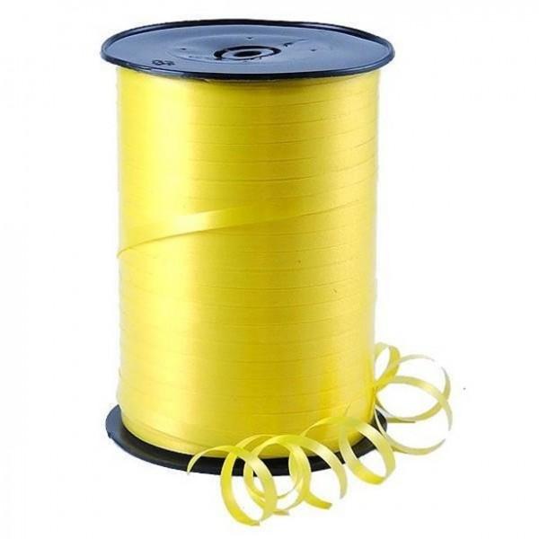 Gift ribbon lemon yellow 500m