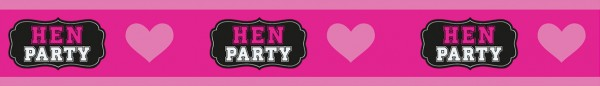Hen Party Banner Pink Bride To Be 270cm