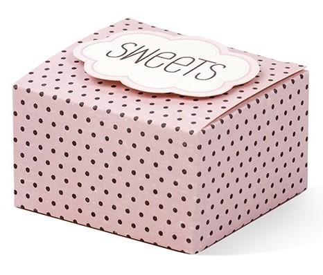 6 coffrets cadeaux Candy Vintage