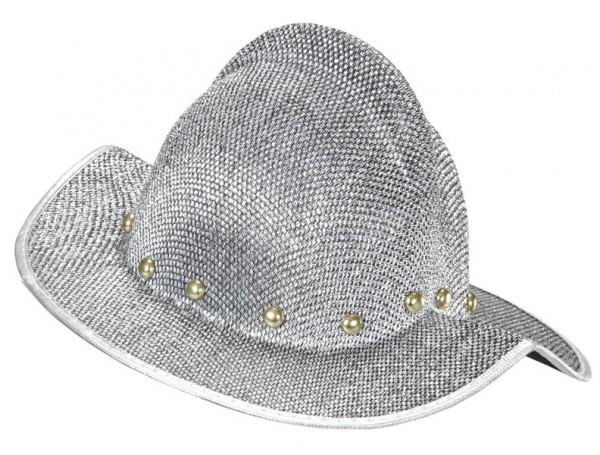 Silberner Eroberer Helm