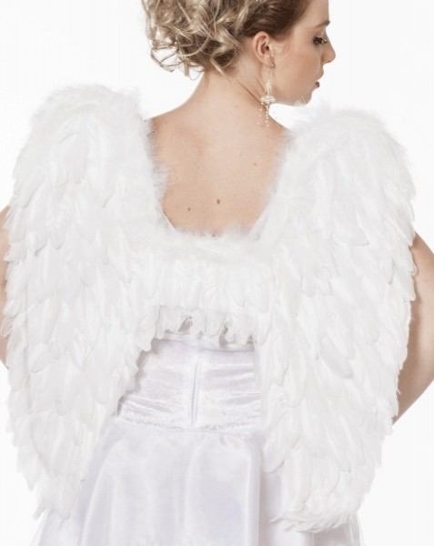 Deluxe Angel Wings From Feathers