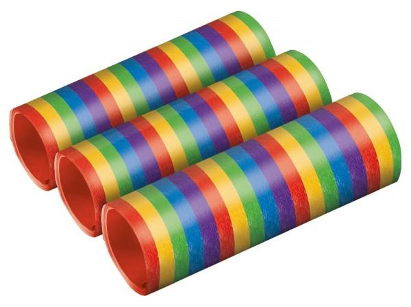 3 Regenbogen metallic 4m