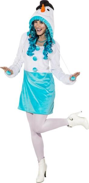 Sweet snow woman costume