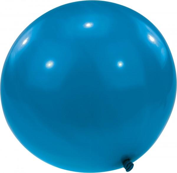 Ballon XL bleu circonférence 170cm avec fermeture spéciale