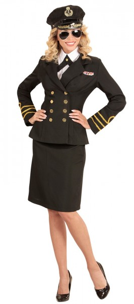 Kostium Kapitan Nina Navy damski