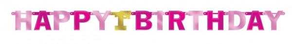 Girlanda Pinkstar na 1.urodziny 2,13 m